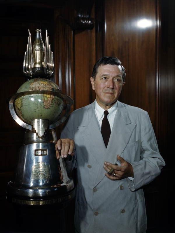 Robert Winship Woodruff, President of the Coca-Cola Company