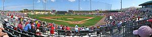 Roger Dean Stadium - Image: Roger Dean Stadium Panorama Jupiter, Florida