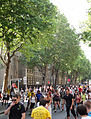 Roller skating, Boulevard Saint-Germain, Paris 2012.jpg