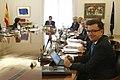 Román Escolano en la reunión del Consejo de Ministros.jpg