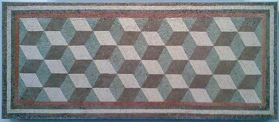 Roman geometric mosaic