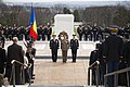 Romanian Land Forces Chief of Staff places wreath at the Tomb of the Unknown Soldier (31956249163).jpg