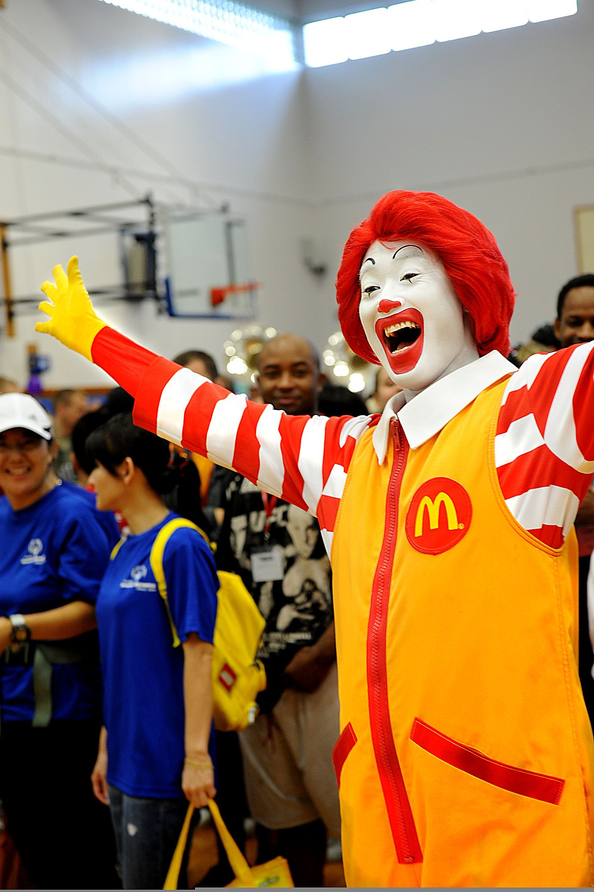 BSW - House Show 1  1200px-Ronald_McDonald_cheers_during_the_Special_Olympics_opening_ceremony_at_Kadena_Air_Base_in_Okinawa%2C_Japan%2C_Nov_111105-F-ZT401-232