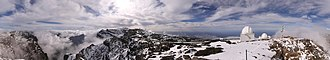 Roque de los Muchachos Observatory - 360 degrees panorama as taken on 2011 January 28