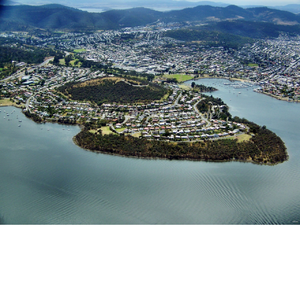Rosny, Tasmania - Aerial image of Rosny and Rosny Hill Nature Recreation Area