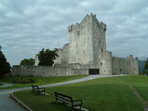 Eóganachta - Ross Castle, fortress of the O'Donoghues, Lakes of Killarney, County Kerry.