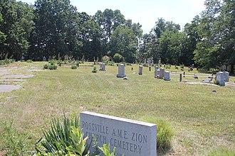 Rossville, Staten Island - Image: Rossville AME Zion Church Cemetery Staten Island August 2015 06