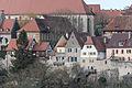 Rothenburg ob der Tauber, Stadtbefestigung, Burggasse 17, 15, 13, Stadtmauer-20160108-001.jpg