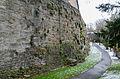 Rothenburg ob der Tauber, Stadtbefestigung, Spitalhofmauer, 002.jpg