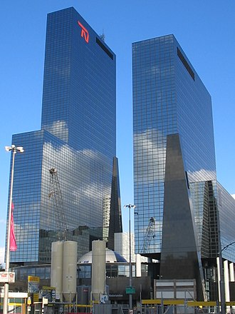 Rotterdam - Gebouw Delftse Poort, one of the tallest office buildings in the Netherlands