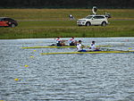 Rowing at the 2012 Summer Olympics – Men's coxless pair Final A.JPG
