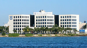 Royal Caribbean International - U.S. headquarters in Miami, Florida.