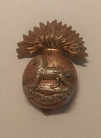 Royal Munster Fusiliers - Royal Munster Fusiliers cap badge