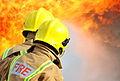 Royal Navy Firefighters Tackling a Blaze MOD 45153425.jpg