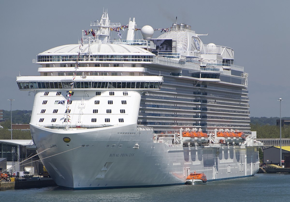 Royal Princess Wikipedia - Largest cruise ship engines