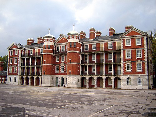 The north block of Chelsea College of Art and Design (formerly the Royal Army Medical College) is actually in Pimlico. Royal army medical college 1.jpg