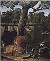 Royen, Willem Frederik - Menagerie des Kurfürsten Friedrich III von Brandenburg - Schloss Caputh.jpg