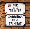Rue de la Trinité (Toulouse) - Plaques.jpg