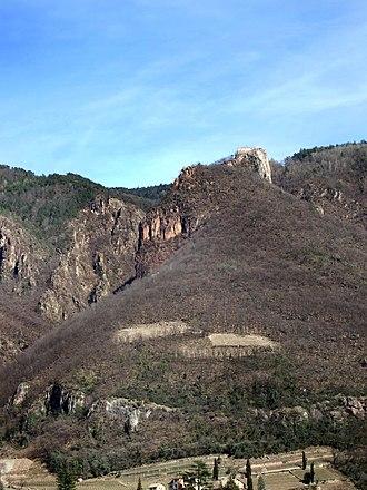 Oswald von Wolkenstein - Ruins of Greifenstein castle