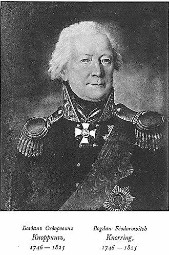 Gotthard Johann von Knorring - Bogdan von Knorring.