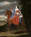 Ryttarporträtt på Madame la Duchesse d´Aumont, 1670-tal - Livrustkammaren - 100378.tif