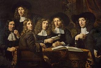 Nicolaes Maes - Image: SA 7541 De overlieden van het Amsterdamse Chirurgijnsgilde