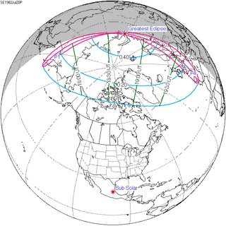 Solar eclipse of July 20, 1982