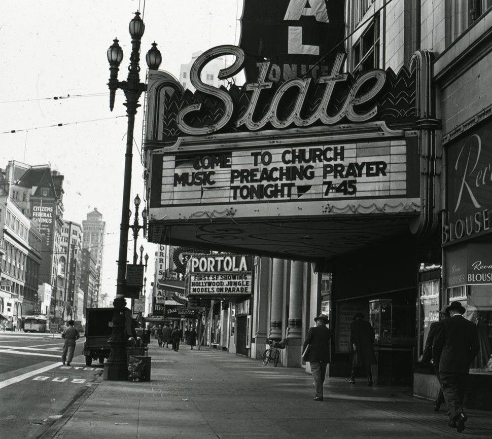 SF Theatre cinema