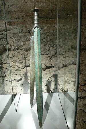 Edad del Bronce: espada