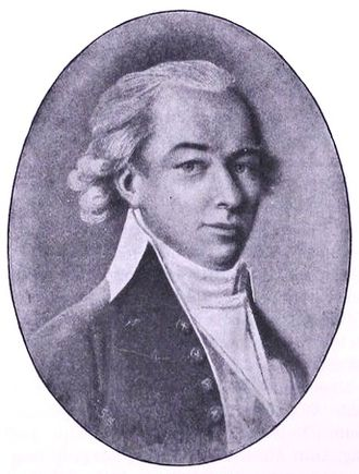 Swedish colony of Saint Barthélemy - The first Swedish governor, Salomon von Rajalin.