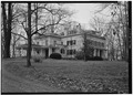 SOUTHEAST AND NORTHEAST SIDES, GENERAL VIEW - Liriodendron, 502 West Gordon Street, Bel Air, Harford County, MD HABS MD,13-BELA,3-3.tif