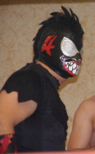 Stigma (wrestler) - Stigma in November 2008
