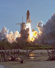 STS-41-D launch August 30, 1984