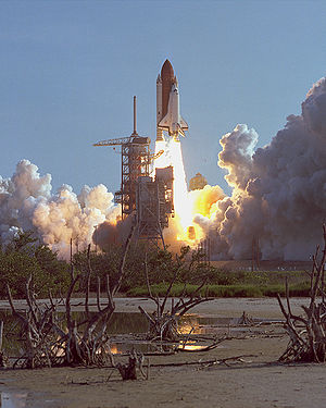 1984 in the United States - August 30–September 5: Space Shuttle ''Discovery'''s maiden voyage