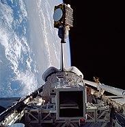 STS-51-G Arabsat 1-B deployment