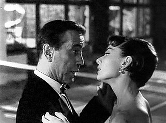 Sabrina (1954 film) - Bogart and Hepburn