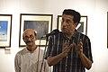Sabyasachi Chakrabarty Addresses - Group Exhibition Inauguration - PAD - Kolkata 2016-07-29 5308.JPG
