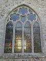 Saint-Méen-le-Grand (35) Abbatiale Façade nord 07.JPG