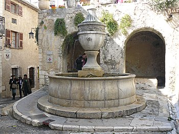 English: Saint-Paul (Saint-Paul de Vence) Fran...