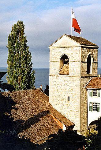 Saint-Saphorin -  Swiss Reformed Church of Saint-Symphorien
