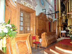 Saint Anne church in Lubartów - Interior - 09.jpg