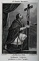 Saint Carlo Borromeo. Line engraving. Wellcome V0031788.jpg