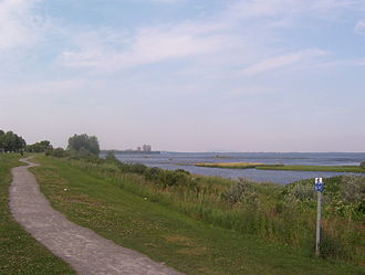 LaSalle, Quebec - The Saint Lawrence River as viewed from Lasalle.