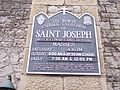 Saint joseph cathedral sign.JPG