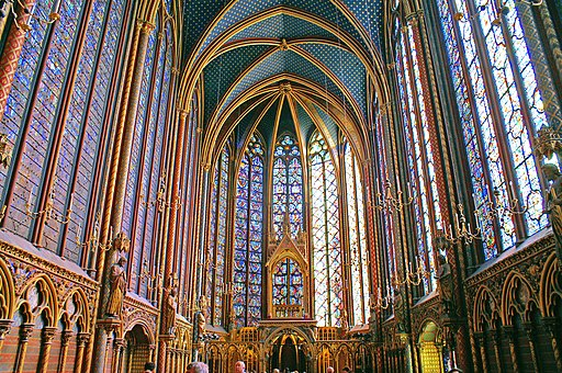 Sainte chapelle - Upper level