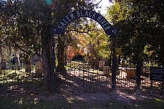 Salem Black River Presbyterian Church - Salem Black River Church Cemetery