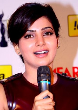 Samantha Akkineni - Samantha Ruth Prabhu at 61st South Filmfare Awards in 2014