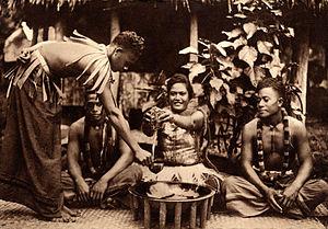 Samoa 'ava ceremony