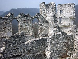 Samobor Castle - Ruins of the Samobor castle