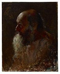 Study Head (Bearded Man)